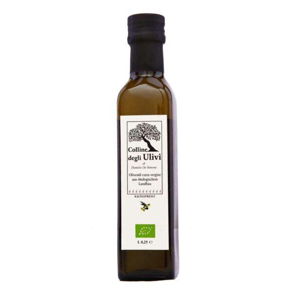 BIO Extravergine Olivenöl 0,25 Liter