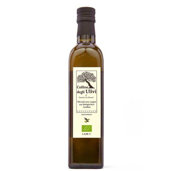 BIO Extravergine Olivenöl 0,5 Liter