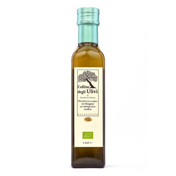 BIO Olivenoel extra vergine mit oregano 0,25L