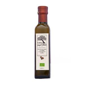 BIO Olivenoel extra vergine mit schwarzer Trüffel 0,25L